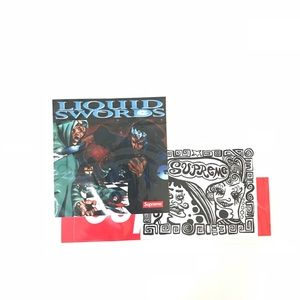 Supreme Liquid Swords & Taboo FW18 Sticker Pack